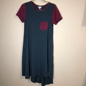LuLaRoe hi-low T-shirt dress size x-small